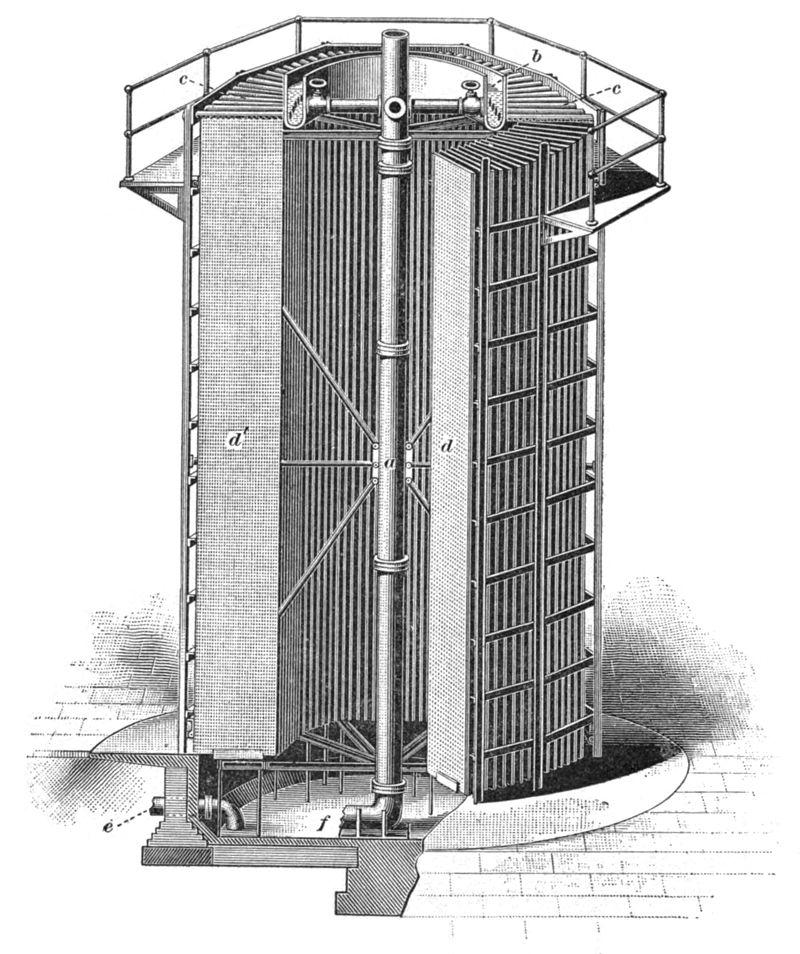 تاریخچه برج خنک کننده