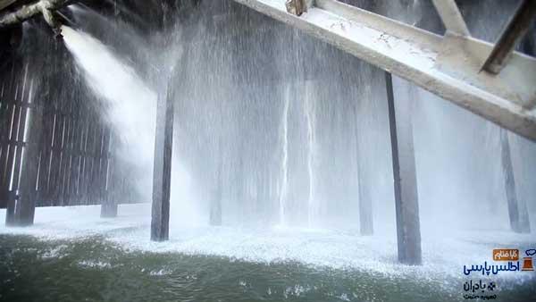 دبی آب در برج خنک کننده