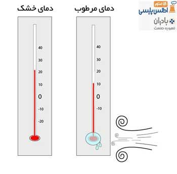 دمای مرطوب