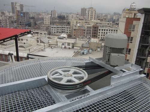 سیستم-کاهش-دور-تسمه-برج-خنک-کننده
