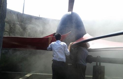 فشار استاتیکی در کولینگ تاور