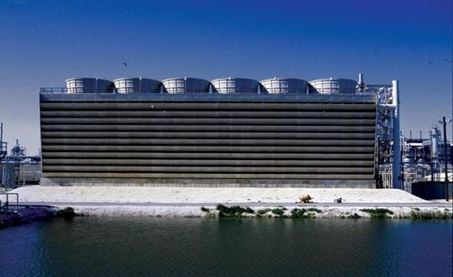 کاهش مصرف آب برج خنک کننده