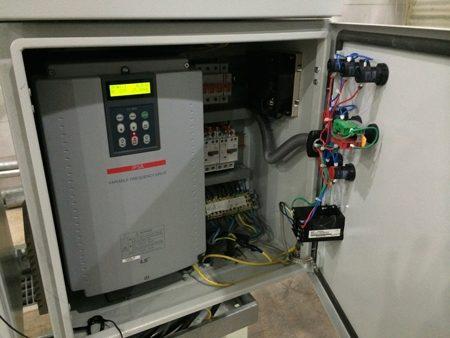 کنترل هوشمند برج خنک کننده