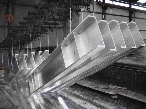 گالوانیزه قطعات فلزی برج خنک کننده